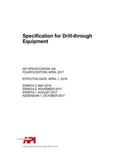 Design manual for api 6a 16a 17d equipment manual for api 6a 16a.