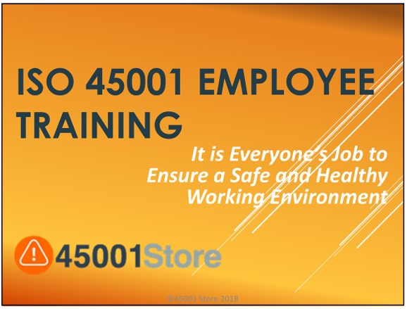 iso 45001 2018 ppt employee training materials