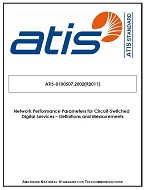 Atis 01005072002s2016 Circuitswitched Network