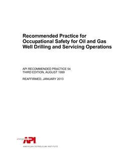 Api measurement standards free download 2017