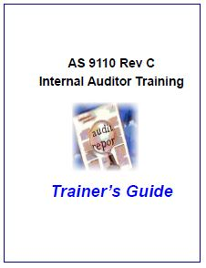 As9110c Internal Auditor Tools Checklist Procedure And Forms