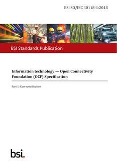 BS ISO/IEC 30118-1:2018