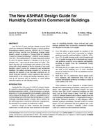 the new ashrae design guide for humidity control in commercial buildings rh techstreet com Egg Incubator Humidity Control Humidity Control Products