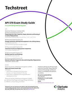 API ICP 570 Study Guide (2019)
