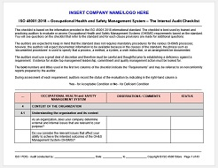iso 45001 and ohsas 18001 comparison pdf