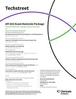 API ICP 653 Study Guide (Nov  2019 through July 2020)