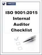 Iso 90012015 internal auditor checklist pronofoot35fo Images